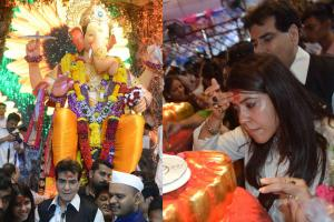 PICS| Bollywood Celebrities Visit Lalbaugcha Raja