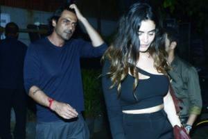 Arjun Rampal & GF Gabriella Demetriades Enjoy Cosy Dinner Date