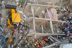 PHOTOS: Building Collapses in Delhi's Ashok Vihar