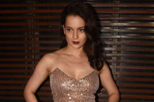 Manikarnika Wrap-Up Party: Kangana Wows in Sheer Dress