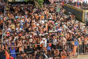 Sabarimala Temple Opens For All Amidst Chaos