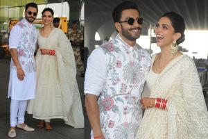 DeepVeer Wedding Reception: Ranveer, Deepika Off to Bengaluru
