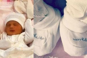 Star Kids: First Pic of Neha Dhupia & Angad Bedi's Baby Girl Mehr