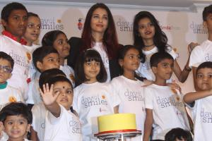 Aishwarya Rai Celebrates Her Father's Birthday With NGO Kids