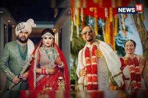 Wedding Photos Of Kapil-Ginni & Raghu-Natalie You May Have Missed