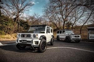 Modified Suzuki Jimny SUV vs Mercedes-Benz G-Wagon - Image Gallery