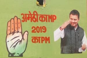 'Amethi Ke MP, 2019 Ke PM' Posters Welcome Rahul Gandhi in Amethi