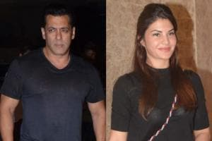 Salman Khan, Jacqueline Fernandez Grace Ramesh Taurani's Birthday Party