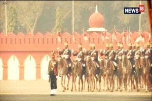 Ahead Of Army Day, Full Dress Rehearsal Was Recently Held At Cariappa Parade Ground, Delhi