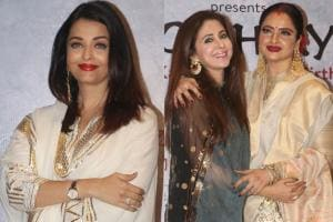 Raag Shayari Premiere: Aishwarya, Rekha Grace Kaifi Azmi's Centenary Celebrations