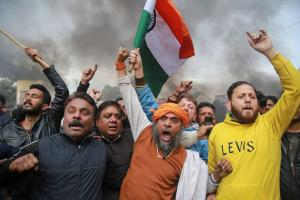 Huge Show of Solidarity Across India Against Pulwama Attack