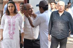 Rajkumar Barjatya's Funeral: Celebs Pay Their Last Respects