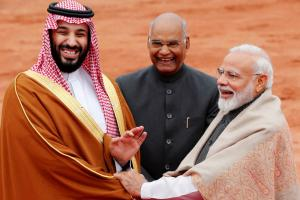 Saudi Crown Prince in India: Ceremonial Welcome for MBS at Rashtrapati Bhavan
