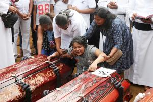 Families Bid Teary Farewell To Sri Lanka Terror Attack Victims