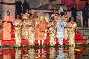 In Pictures: Narendra Modi's Mega Roadshow in Varanasi