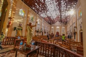Sri Lanka Terror Attack Photos: Serial Blasts Hit Churches, Hotels on Easter