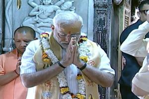 PM Modi in Varanasi: Offers Prayers at Kashi Vishwanath, Address Party Workers