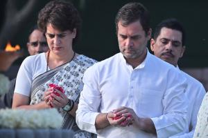 Congress Leaders Pay Tribute to Rajiv Gandhi on 28th Death Anniversary