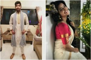 Glamorous Pictures of Jasprit Bumrah's Rumoured Girlfriend Anupama Parameswaran