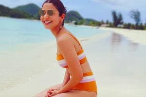 Celebrity Vacations: Bikini-clad Anushka Sharma's Sun-Kissed Pic Goes Viral
