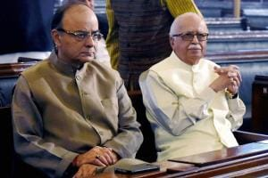 Arun Jaitley with Indian Political Bigwigs - See Pictures