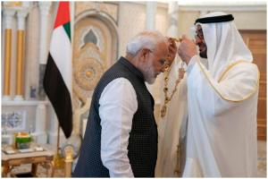 PM Modi in Bahrain: Signs 3 MOUs, Conferred with UAE's Highest Civilian Award
