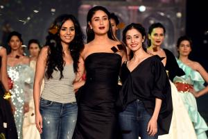 LFW Grand Finale 2019: Kareena Kapoor Khan Dazzles on the Ramp for Gauri & Nainika