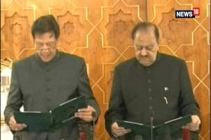 Imran Khan Takes Oath As Prime Minister of Pakistan