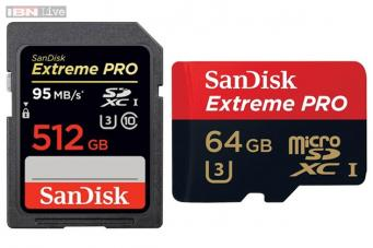Sandisk Launches The Worlds Highest Capacity 512gb Sd Card At Rs