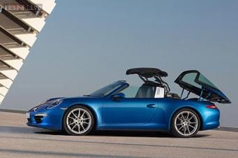 Porsche Launches Sports Car 911 Targa In India Priced At Rs 1 59