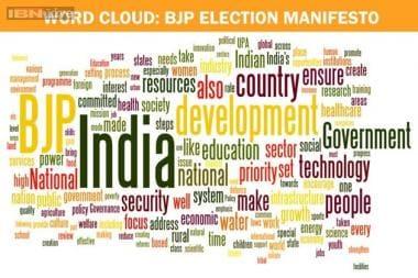 Full text: BJP manifesto for 2014 Lok Sabha elections - News18