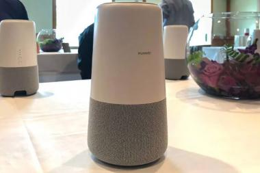 Huawei AI Cube is an Alexa-Powered Smart Speaker With a 4G Modem