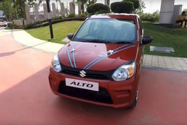 New Maruti Suzuki Alto 800 Spied, Gets Added Safety Features