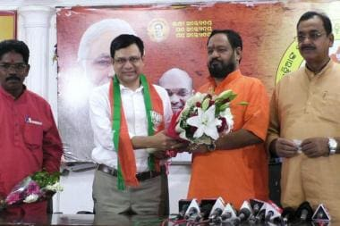 Image result for Day After Named BJP Nominee for RS Bypolls in Odisha, Ex-IAS Officer Ashwini Vaishnav Joins Party
