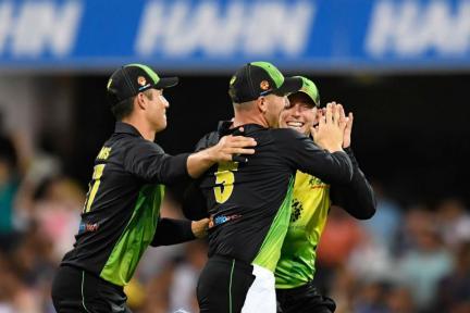 IN PICS | India vs Australia, First T20I at Brisbane