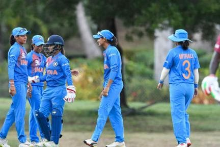 IN Pics | India vs West Indies, ICC Women's World Twenty20 Warm-up Match at Coolidge