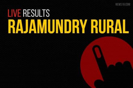 Rajamundry Rural Election Results 2019 Live Updates: Gorantla Butchaiah Choudary of TDP Wins