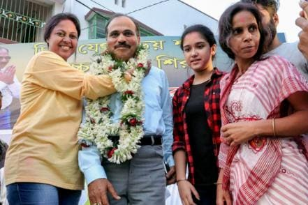 Cong' Lone Face in Bengal, Adhir Ranjan Chowdhury Proves Why He is Still The Nawab of His Fort