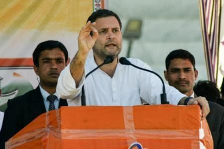 Rahul Invokes Indira Gandhi to Seek 'Blessing' of People of Karnataka Ahead of Assembly Elections