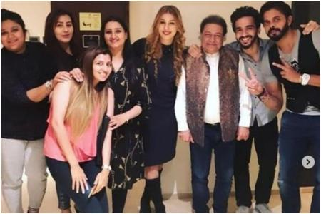 Sreesanth, Jasleen Matharu, Anup Jalota and Shilpa Shinde Unite for a Get Together Post Bigg Boss