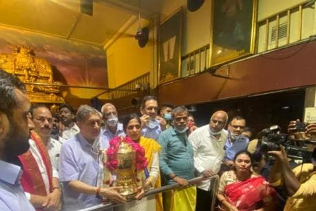 No CSK Without Dhoni, No Dhoni Without CSK, Says N Srinivasan While Visiting Chennai Temple