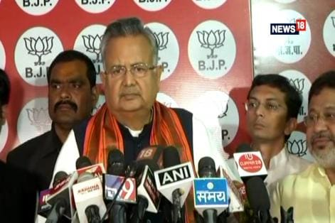 I Take Responsibility For BJP's Loss In Chhattisgarh, Says Raman Singh