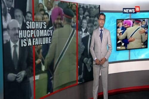 Face Off: Sidhu's 'Hugplomacy' Fails