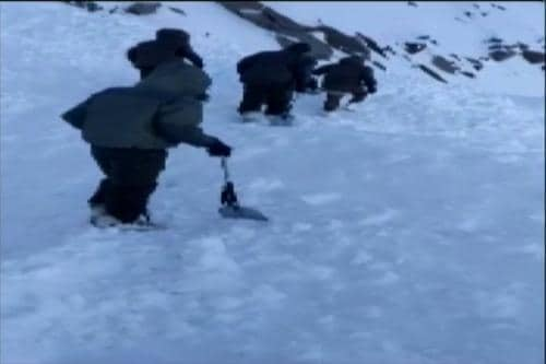 Daring Rescue After Avalanche Hits Ladakh