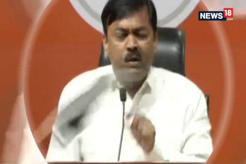 Shoe Hurled At BJP MP GVL Narsimha Rao During Press Conference, Party Blames Congress