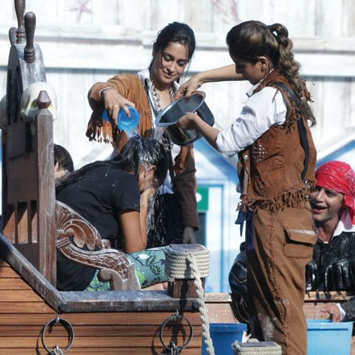 Dipika, Shristy look ahead in the luxury budget task