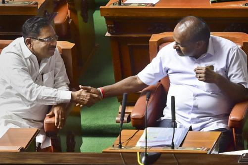 Ten Days Since Results, Kumaraswamy Wins Trust Vote, Promises 'New Kind' of Coalition Govt
