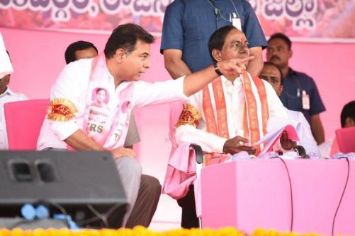 Son KTR Rises in Telangana Dwarfing Cousin Harish Rao, Settles TRS Succession Battle