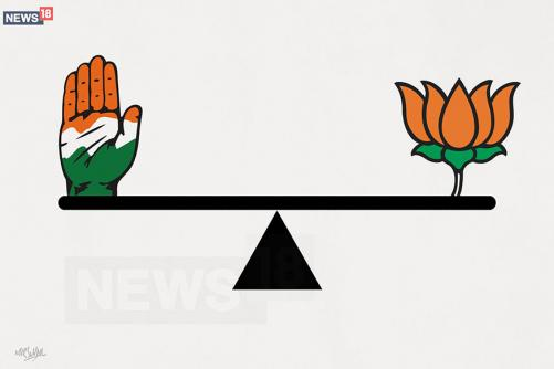 Battle Down to the Wire in MP as Congress Inches Closer to Victory, Accuses BJP of Pressuring EC
