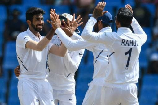 India vs West Indies, 2nd Test Day 2 at Kingston: Bumrah Picks Six to Leave West Indies in Trouble